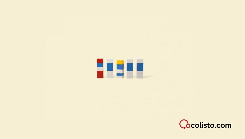 Adivina adivinanza ¿Quién se esconde bajo las piezas de Lego?
