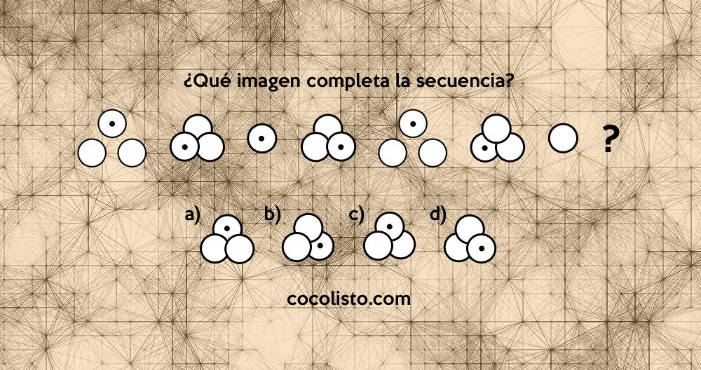 Completa la secuencia de imágenes