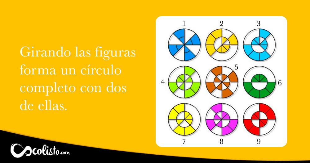 Acertijo geométrico con respuesta. Resuélvelo.