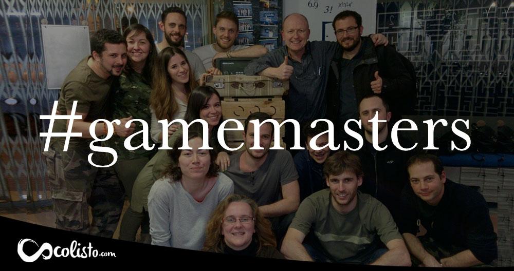 Game masters. Los que saben también juegan.