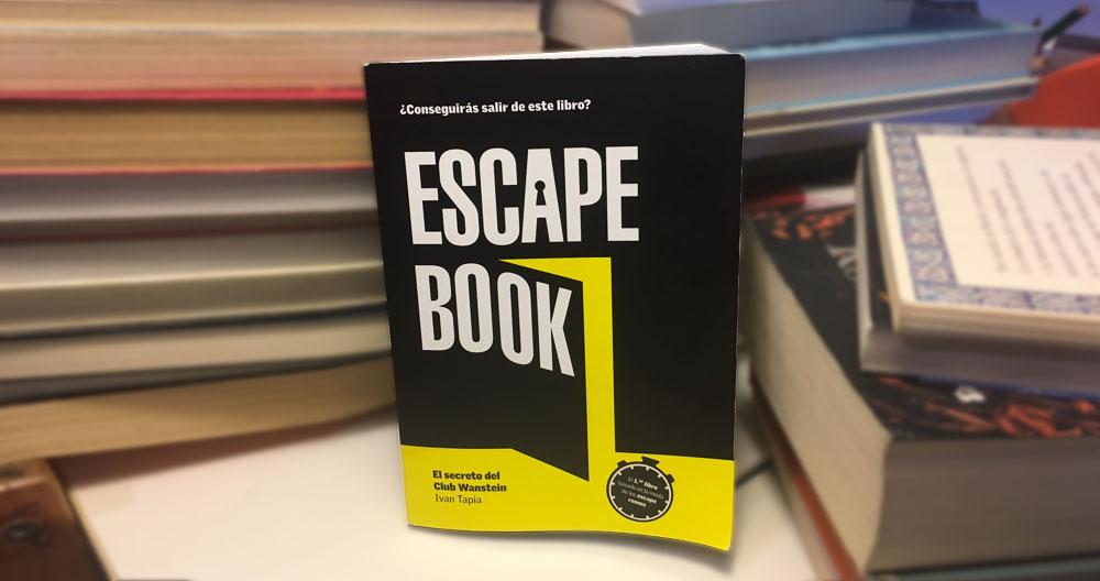Escape Book. Basado en el fenómeno de los Room Escape.