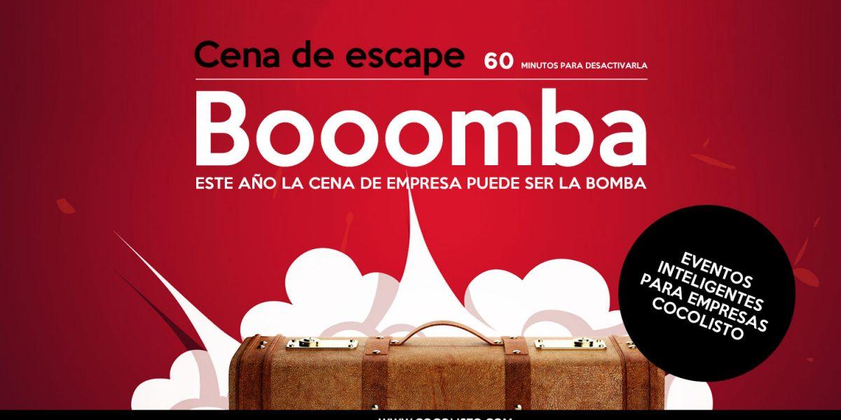 ¡Este año la cena de empresa será la Bomba!