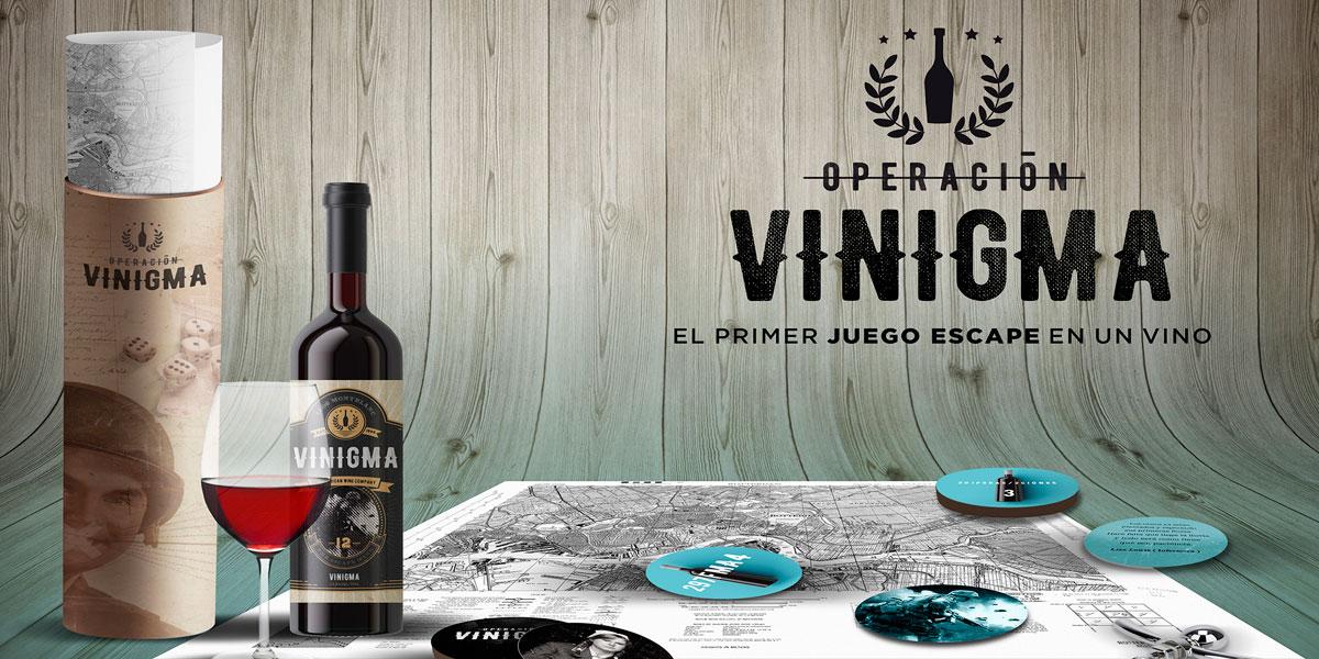 Vinigma: el vino que da juego