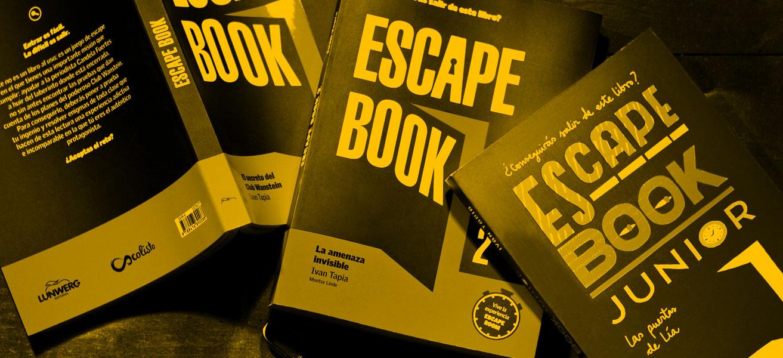 Juegolibros, Escape Book y otros libros para jugar.