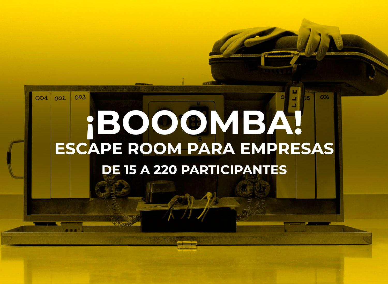 Escape room para empresas.