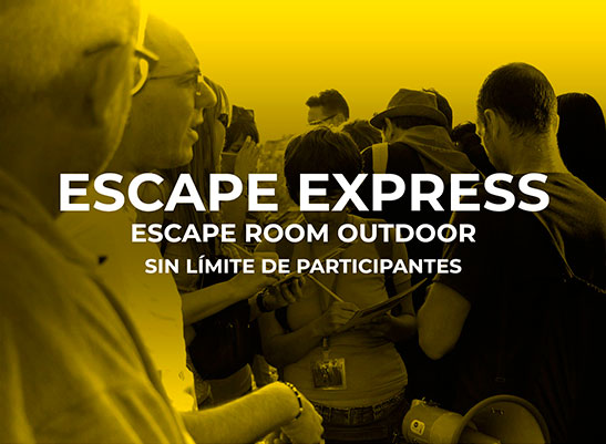 Escape room outdoor.