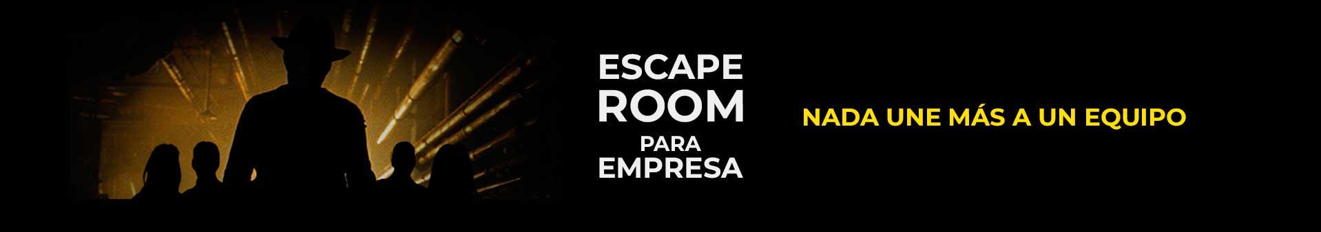 Escape room para grupos grandes